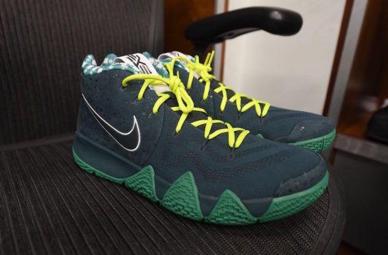 Jayson Tatum Debuts The Nike Kyrie 4 Green Lobster