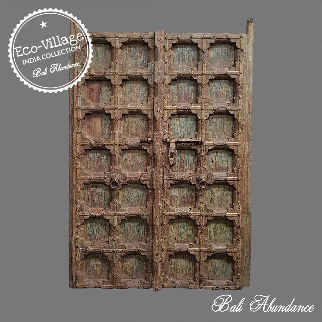 Indonesian Imported from Bali into our Melbourne Warehouse. Original vintage  Balinese doors with traditional antique - Indonesian Imported From Bali Into Our Melbourne Warehouse. Original