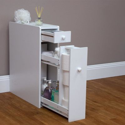 Bathroom Utility Caddy - MDF Construction, Painted Finish ...
