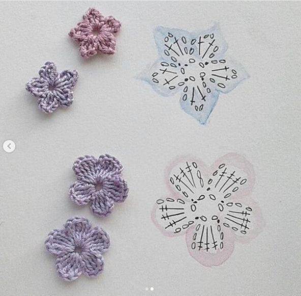 Crochet flowers #crochetflowerpatterns