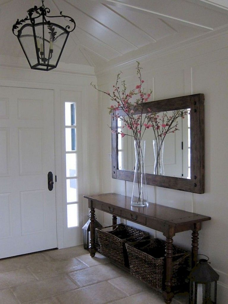 Fabulous Foyer Decorating Ideas: Rustic Farmhouse Entryway, Foyer Decorating