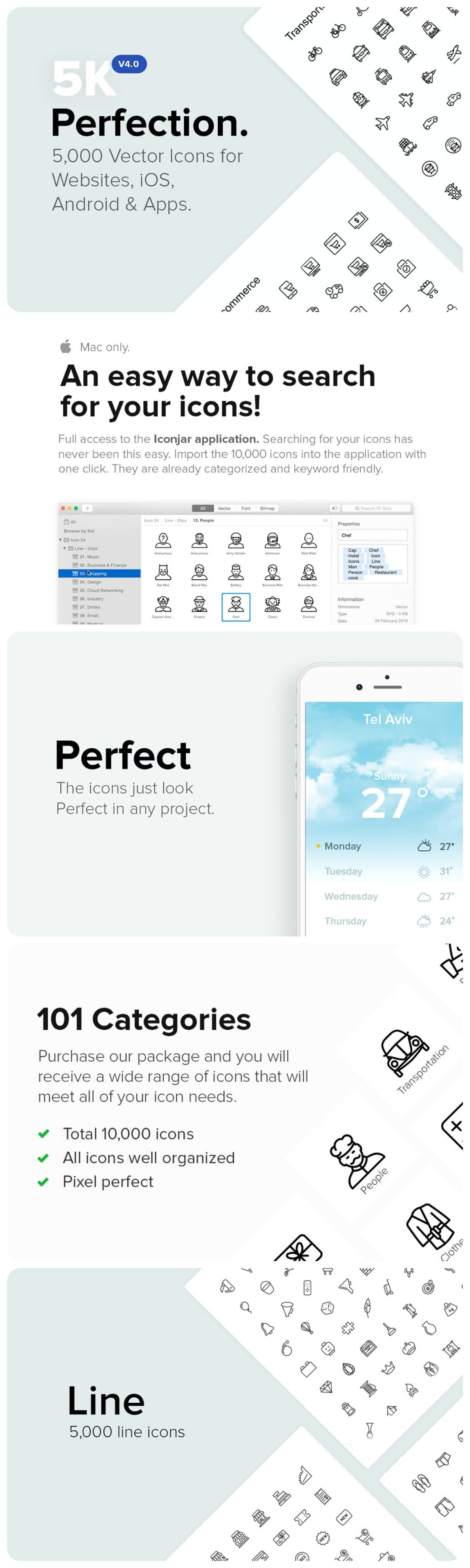 5 000 Perfect Icons New V4 0 Icon Icon Package Android Design