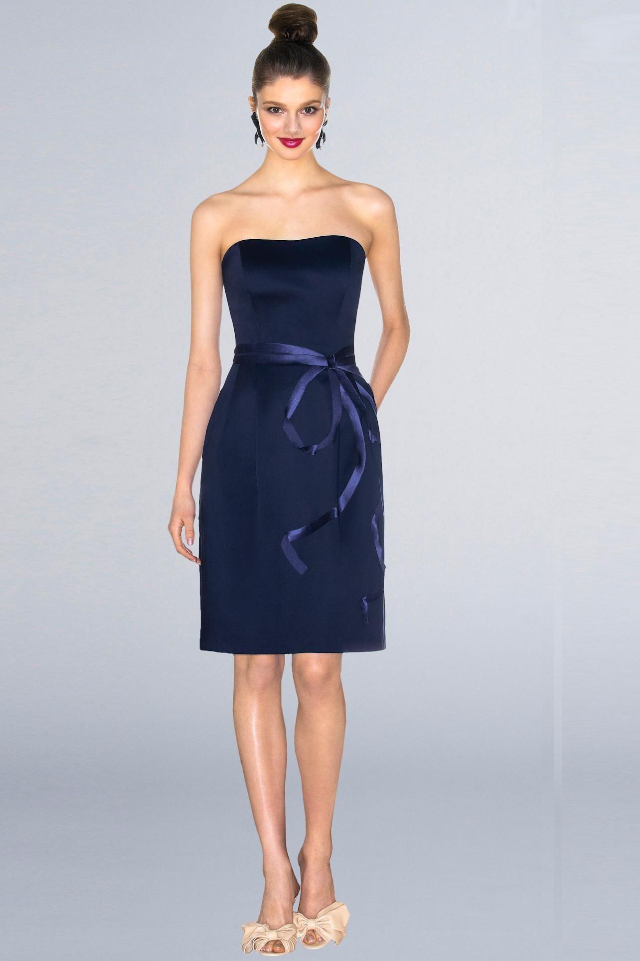 Navy blue bridesmaid dress stdressmallimagesl