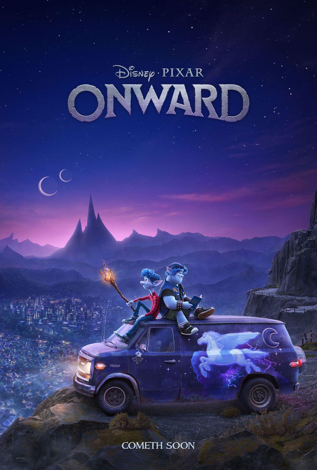 Disney dévoile un Teaser Trailer pour Onward Films