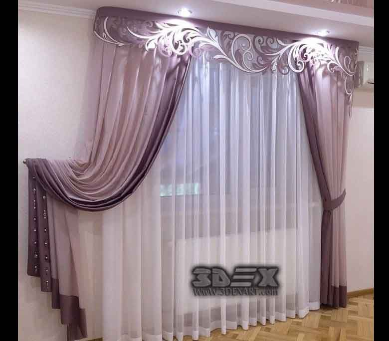 Modern Bedroom Curtain Design Ideas Window Curtains 48 Latest New Bedrooms Curtains Designs