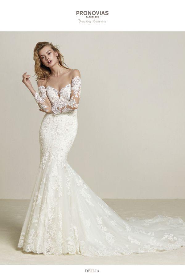 pronovias wedding dress. find pronovias and more at here comes the