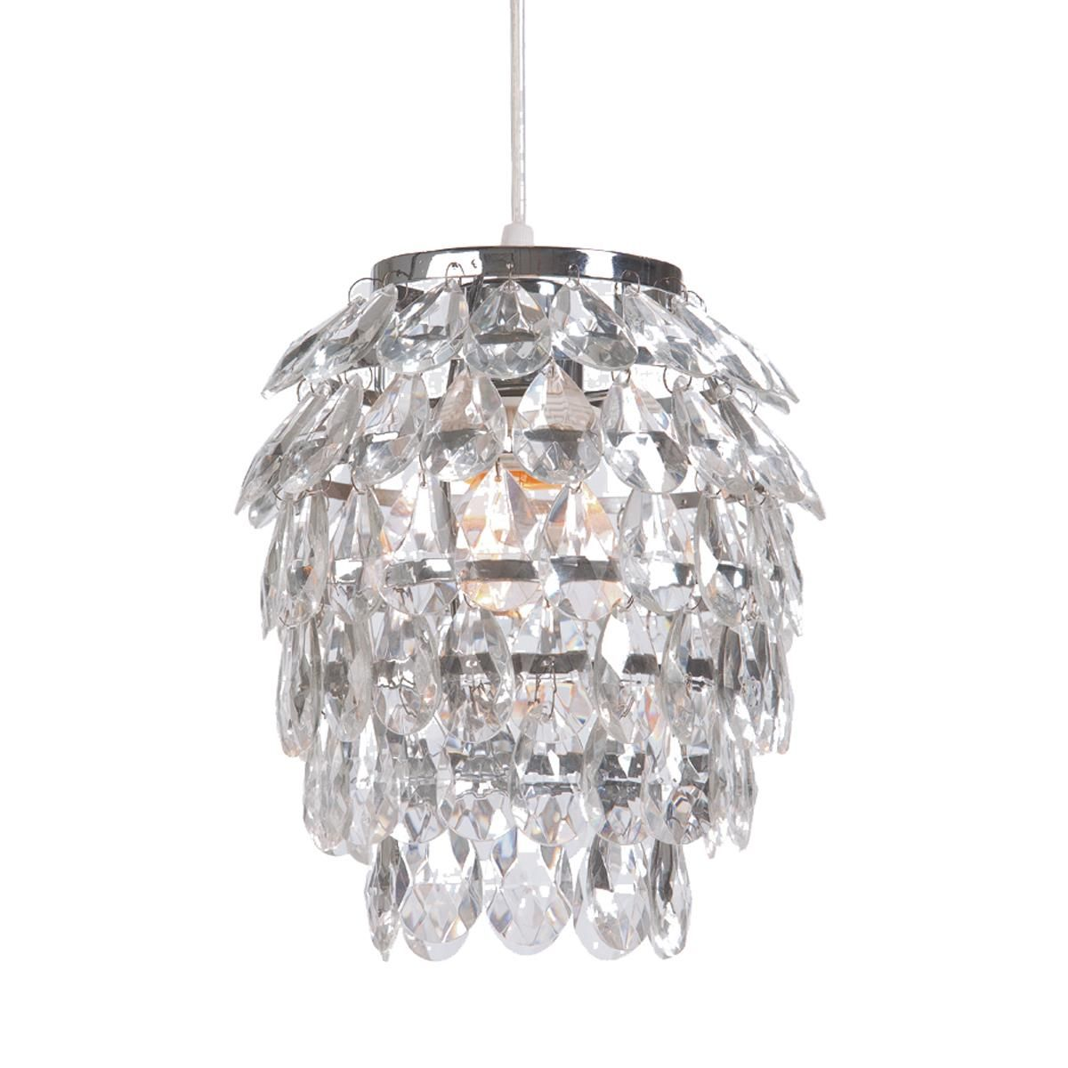 Crystal Curtain Mini Pendant Light Small Reno Refurb