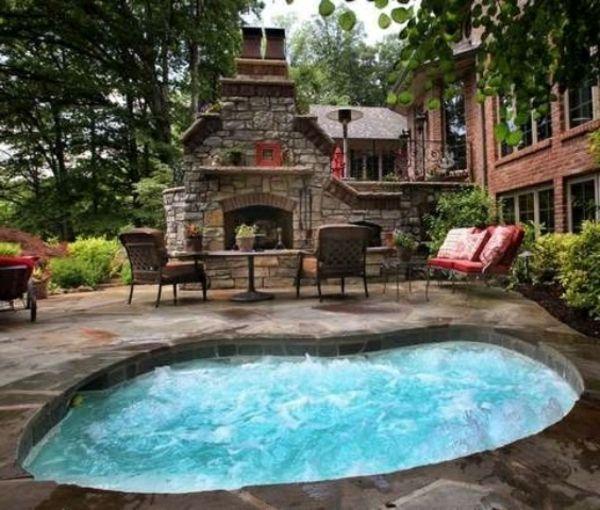 whirlpool im garten kamin | Pool 1 | Pinterest | Ranch
