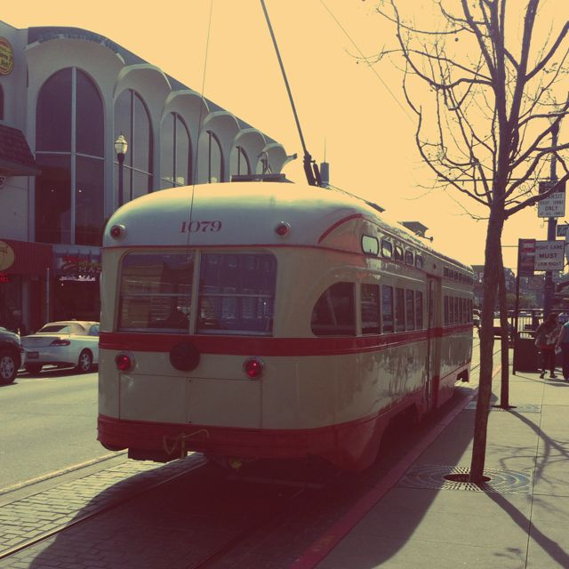 Another pick from San Fran. Loved the retro trollies that weren't cable cars.