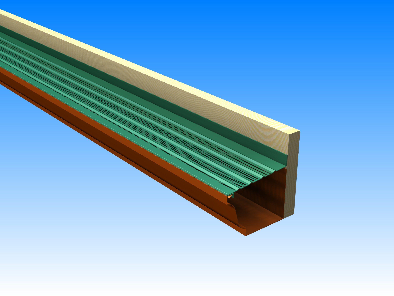 Installs Directly Into Fascia Board Fascia Board Gutter Guard Installation