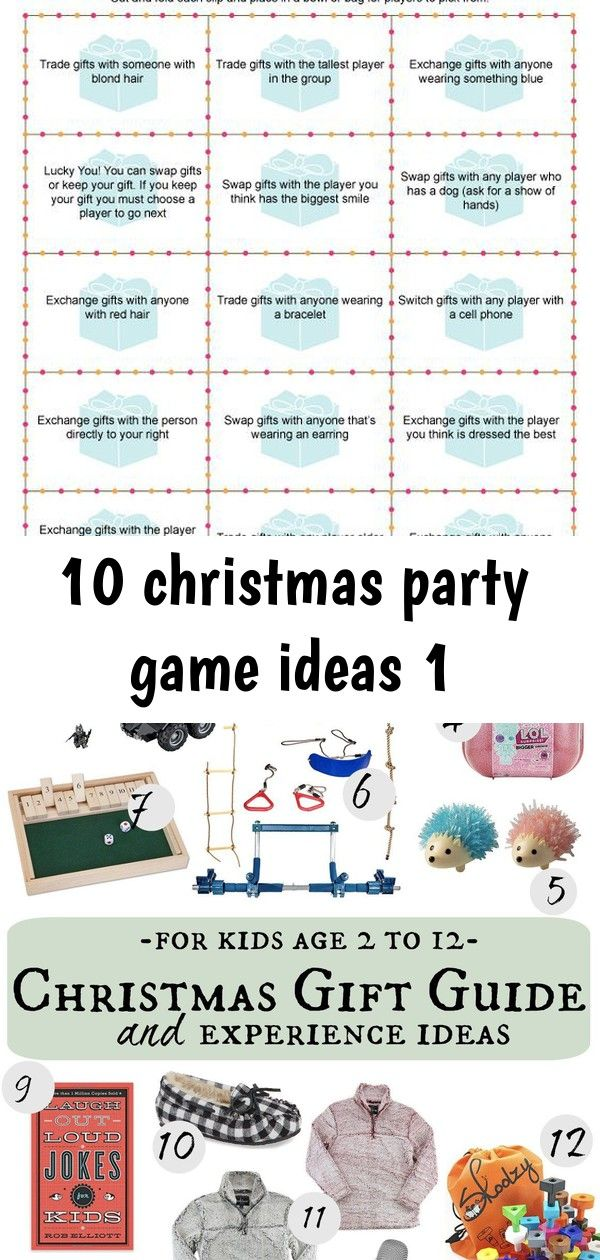 10 christmas party game ideas 1 | Holiday gift exchange ...