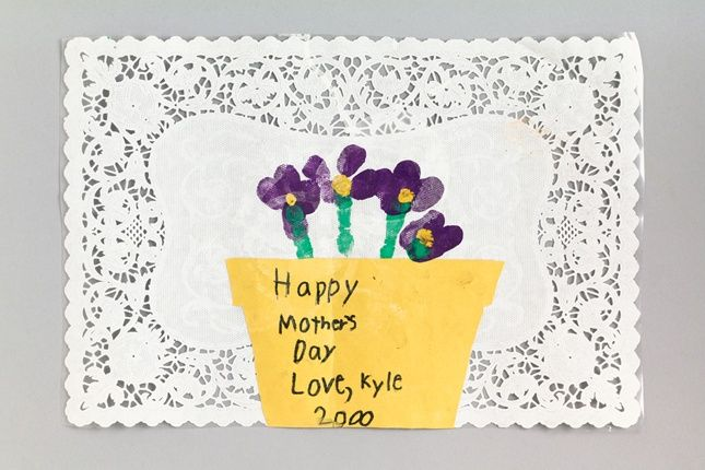 Children Leave Their Own Distinct Mark On Mother S Day Or Any Holiday With A Thumb Print Flowerpot Diy Mother S Day Crafts Crafts For Kids Mothers Day Crafts