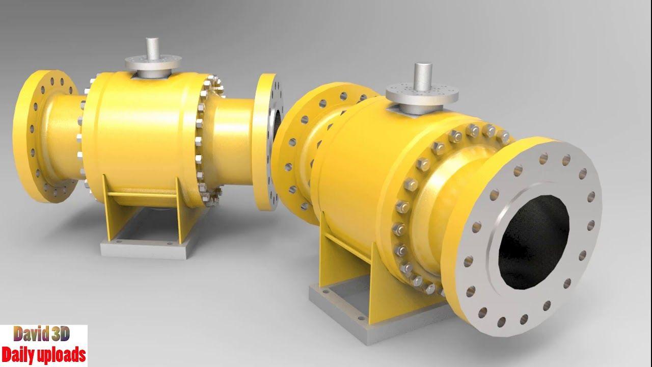 Excellent Ball valve || Download free 3D cad models #5052