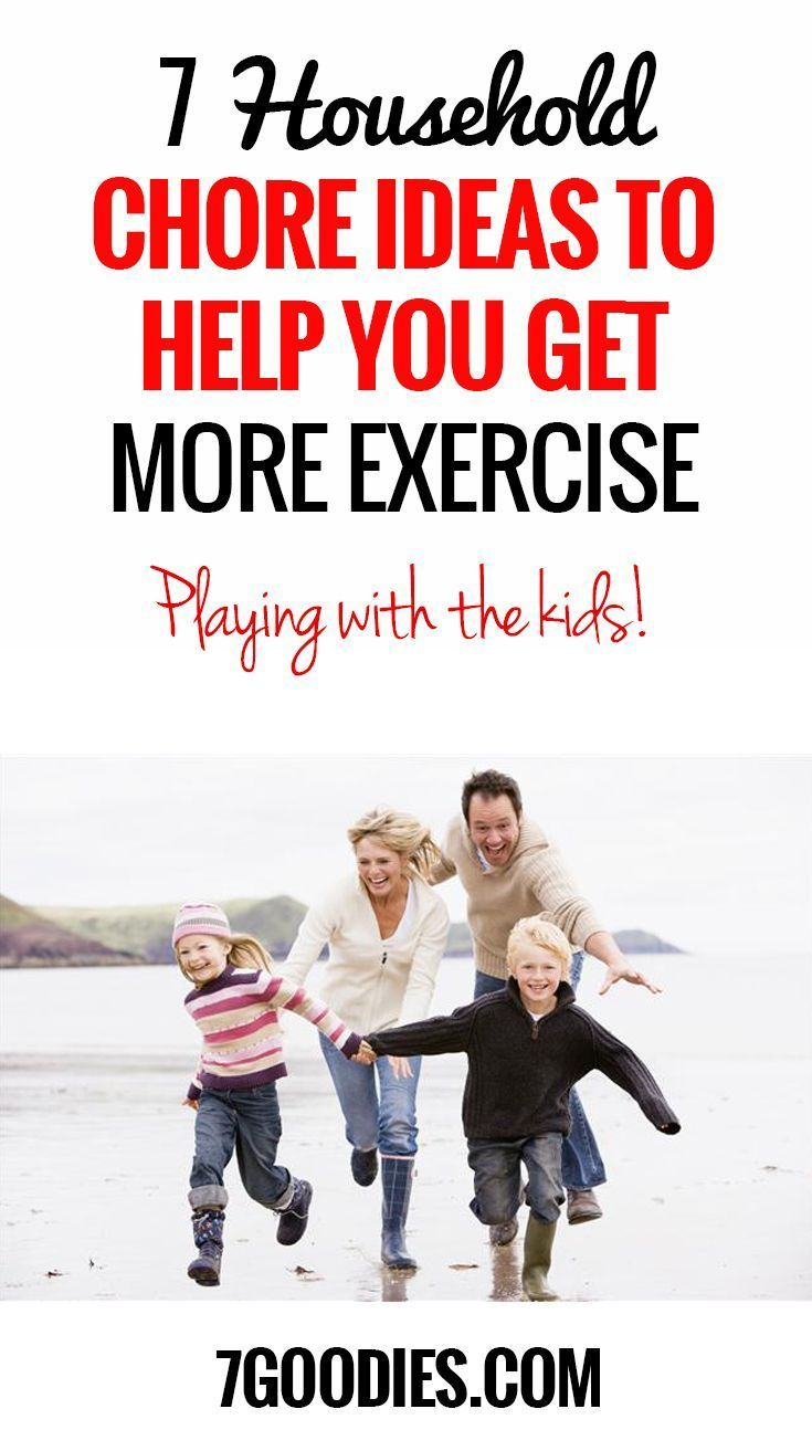 7 More Household Chore Ideas to Help You Get More Exercise ...