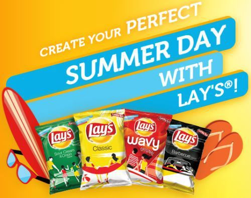 Lay's Chips Free Customized Bag of Lay's Chips - US