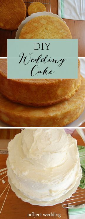 How To Make Your Own Wedding Cake Im Getting Hungry Just Homemade CakesDiy