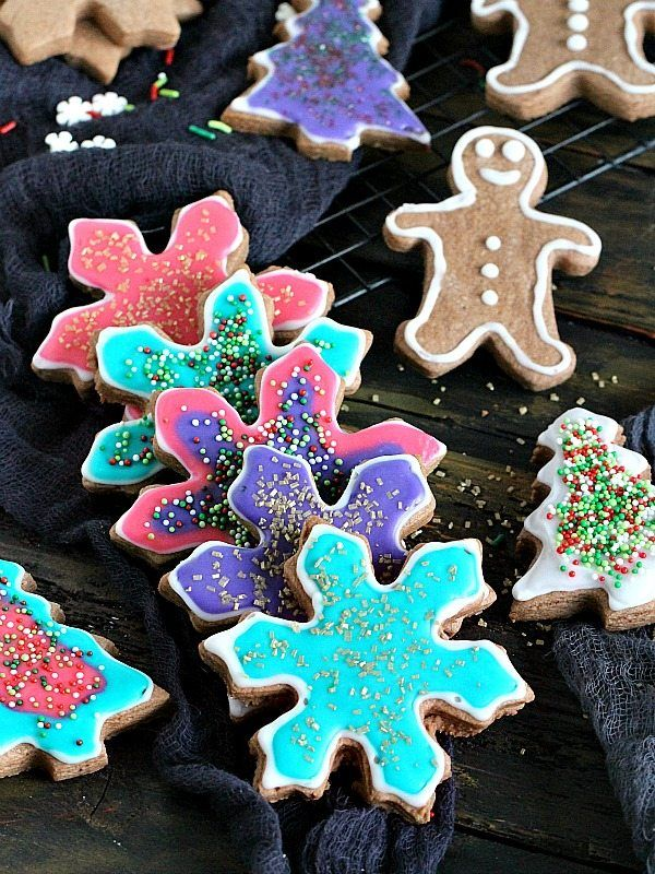 fun and festive neon chocolate sugar cookies with a prominent chocolate flavor and beautiful neon colors