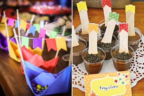 Veja como fazer 10 ideias criativas para decorar sua festa junina com materiais de baixo custo aqui no blog.