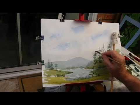 Drawing Distance In A Landscape Landscape Drawings Cool
