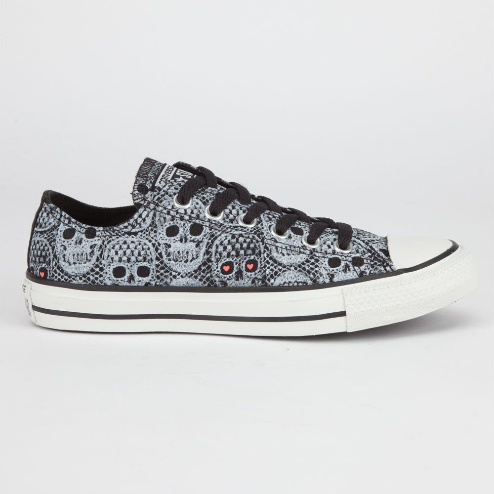 65c57f618b3c CONVERSE Chuck Taylor All Star Skull Womens Shoes 223173125 ...