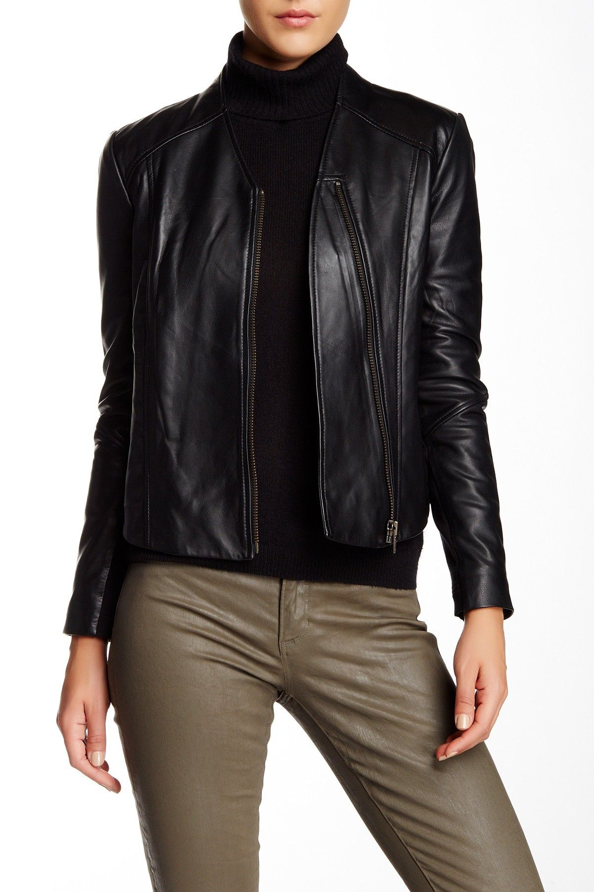 W118 by Walter Baker Kimberly Leather Jacket HauteLook