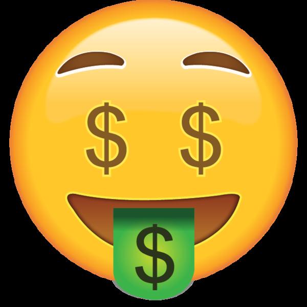Money Face Emoji Money Emoji Emoji Stickers Emoji Love