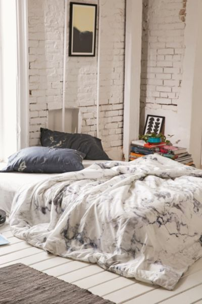 Nice Assembly Home Marble Duvet Cover   Urban Outfitters