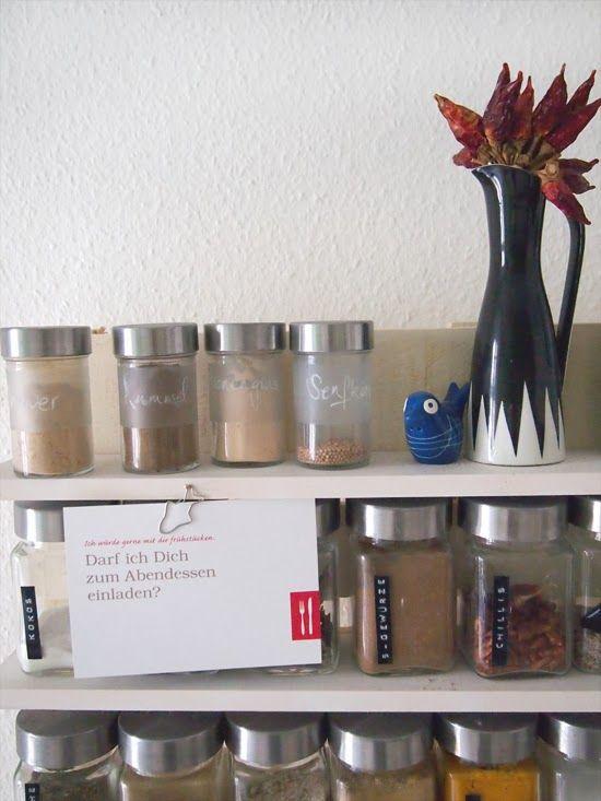 Organizador de utensilios de cocina con un palet palet for Organizador utensilios cocina