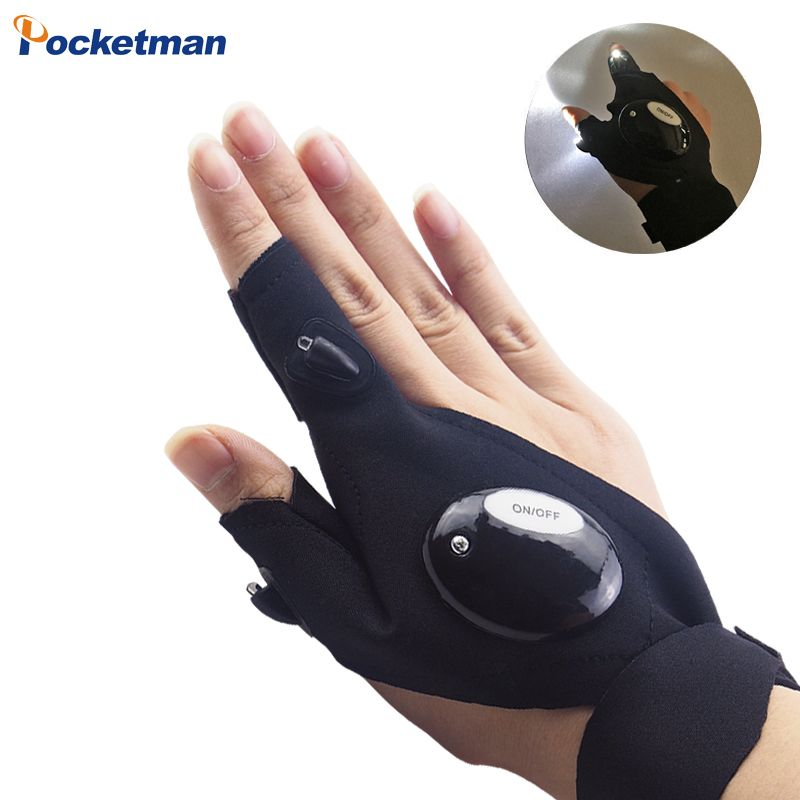 aac5e7725cc497 Finger Light Outdoor Fishing Magic Strap Finger Glove LED Flashlight Torch  Cover Survival Camping Hiking Rescue Repair Tool Z93. Yesterday s price  US   1.98 ...