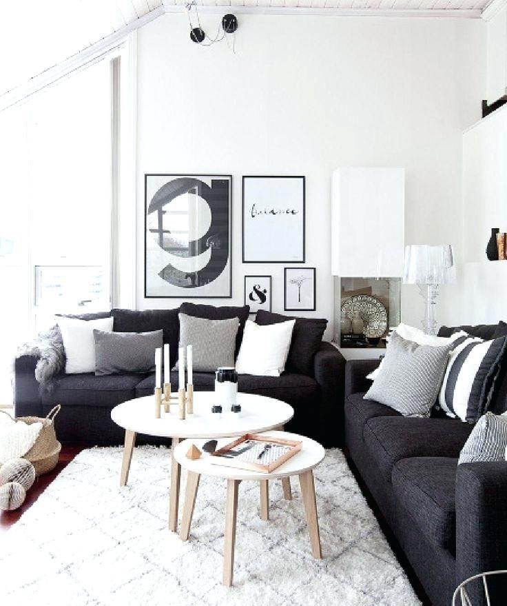 Dunkelgrau Couch Wohnzimmer Kleine Wohnung Wohnzimmer Wohnung
