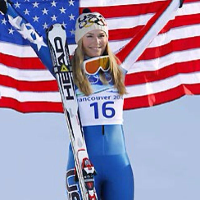 Lindsay Vonn proved to me that I can come back from any injury with more strength and determination than before.