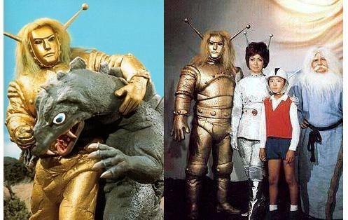 En Un Nostalgia Trip Pregunto Quien Recuerda La Antigua Serie De Television Japonesa Monstr Monstruos Del Espacio Programas De Television Antiguos Monstruos