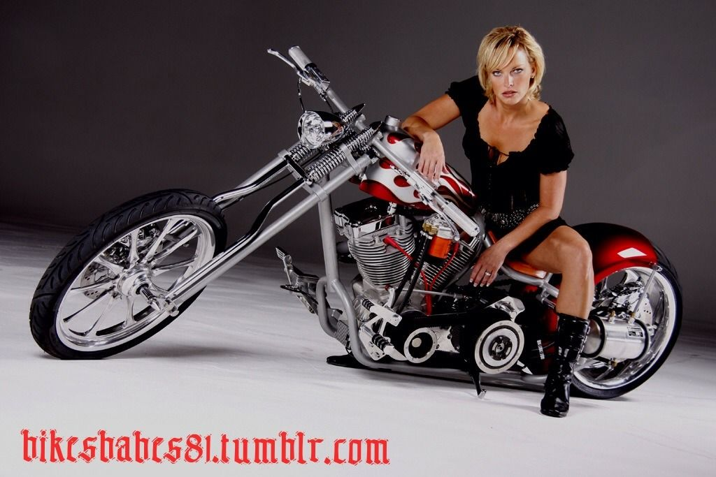 Hung Low Long And Eroctic With A Blonde Biker Babe Mounted On Top