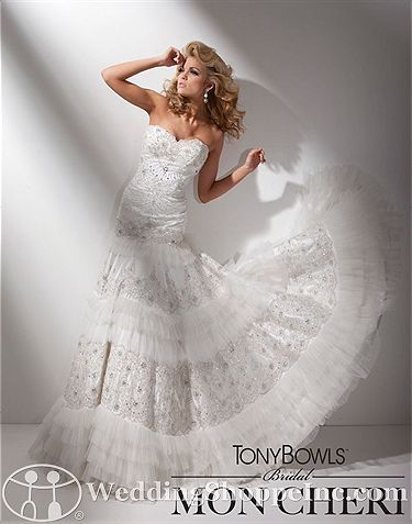 Order a Tony Bowls Bridal T211278 Bridal Gown at The Wedding Shoppe ...