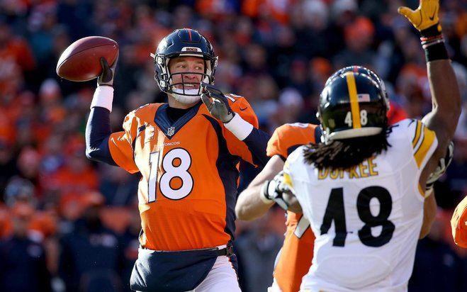 Manning leads Broncos past gritty Steelers 23-16