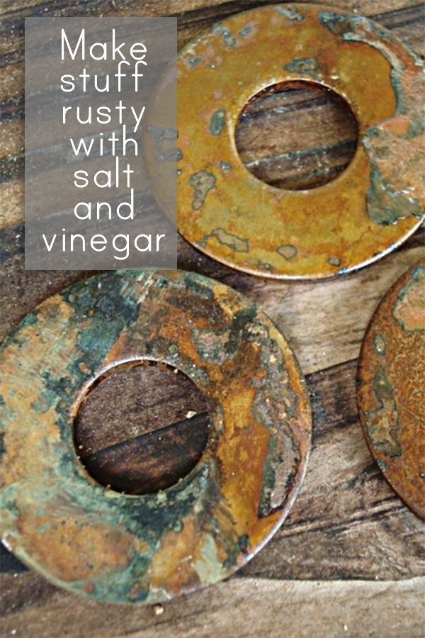 Make stuff rusty for your vintage jewelry making projects!  http://www.alteredalchemy.com/2010/07/experiment-rusting-iron.html