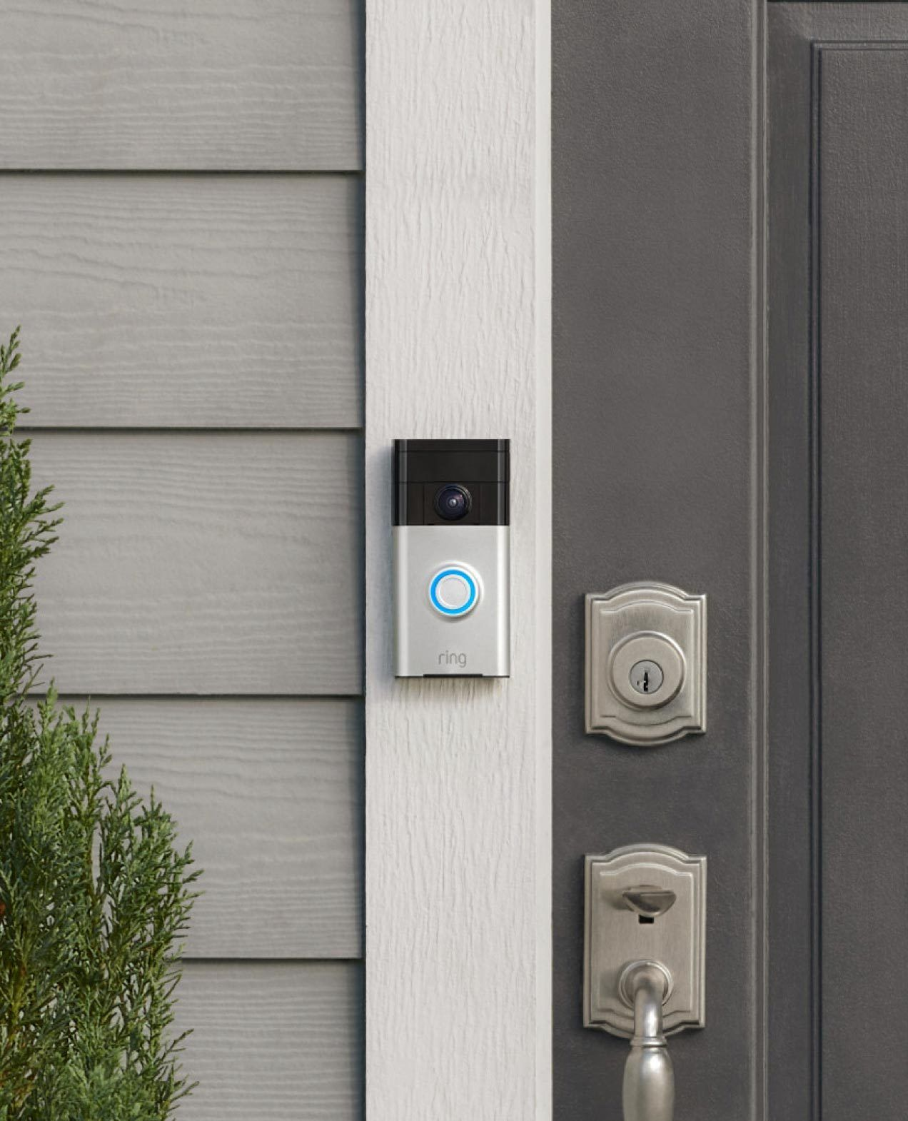 With A Ring Video Doorbell You Re Always Home See Hear And Speak To Whomever Is At Your Door Using Your Smart Doorbell Smart Doorbell Alarm Systems For Home