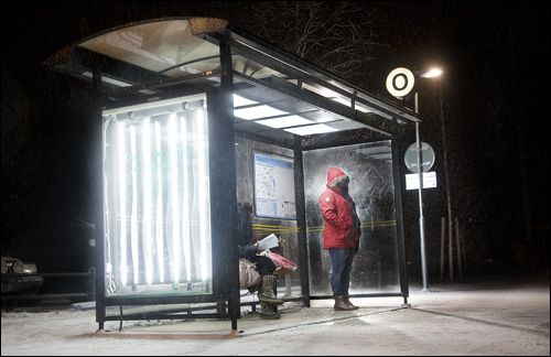 Light Therapy From Umea Sweden Repurposing The City S Bus