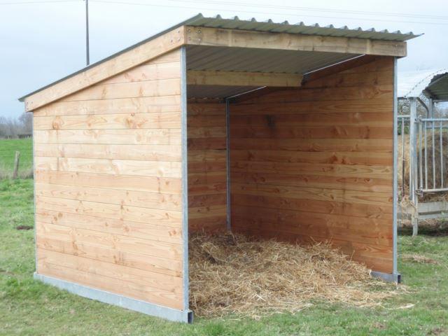 Abri de prairie mobile pour chevaux abri abri chevaux abri et abris pour animaux - Baraque de jardin ...
