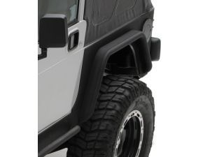 Smittybilt Rear Xrc Fender Flares In Textured Black For 76 06 Jeep Cj 7 Wrangler Yj Tj Fender Flares Jeep Smittybilt