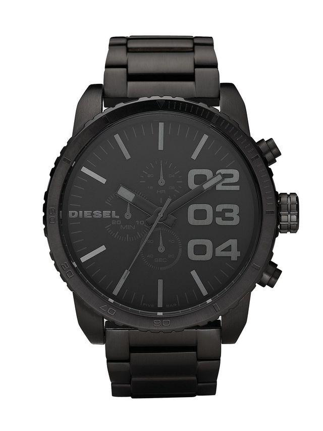 Montre diesel homme acier noir bracelet acier