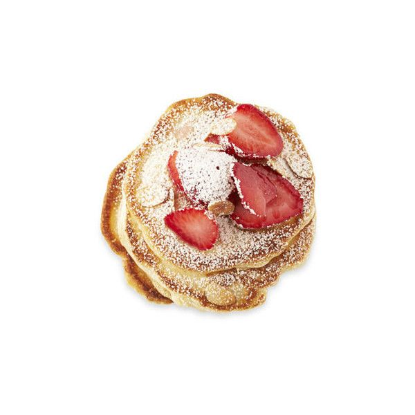 Easy Pancake Recipes ❤ liked on Polyvore featuring food, fillers, food and drink, breakfast and food & drinks