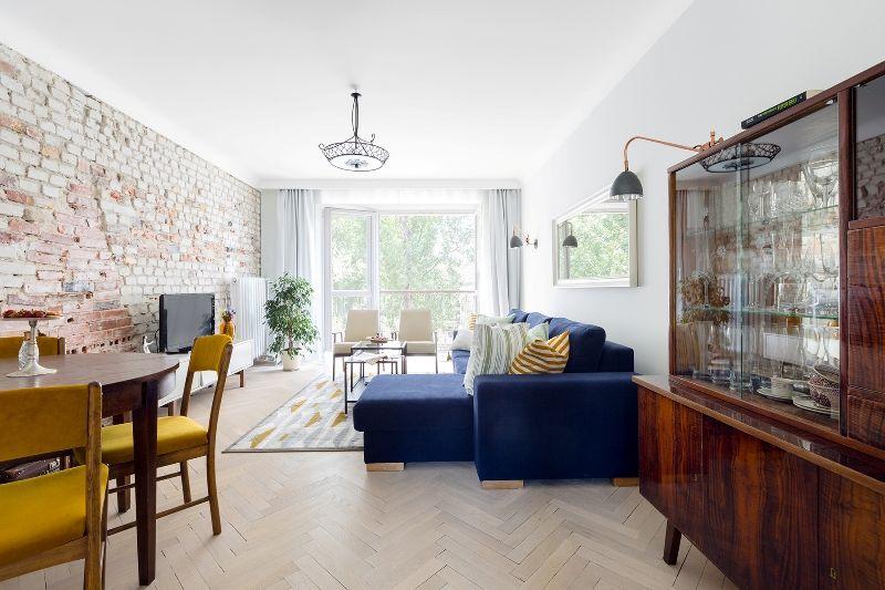 Styl Retro I Nowoczesny Minimalizm Pln Design Home Decor Home Living Room Inspiration