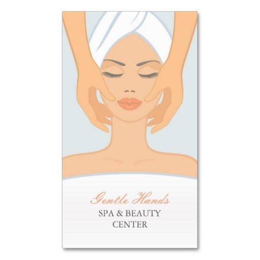 Spa And Beauty Appointment Card Business Card Templates
