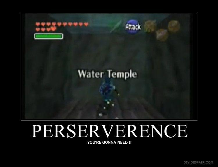beb69bbc1cc5188632189bc5bd70ee23 ocarina of time walkthrough water temple zelda dungeon zelda,Water Temple Meme