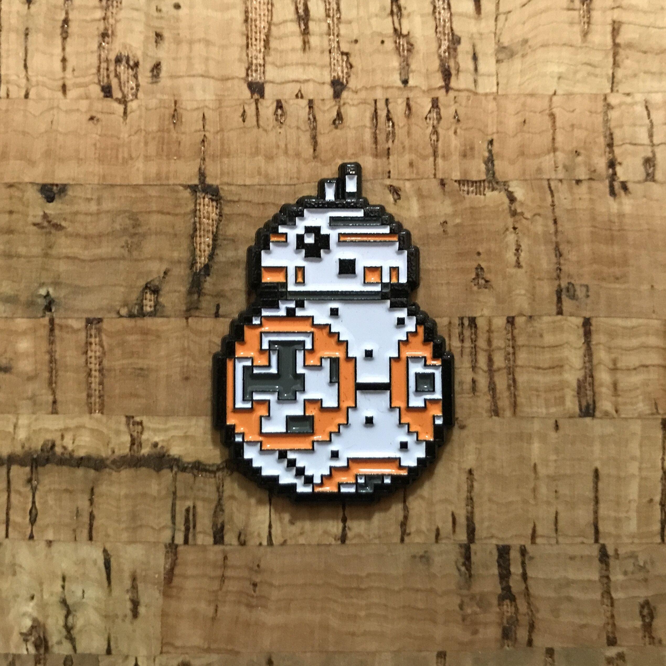 Gr8-Bit Pins BB-8bit Enamel Pin