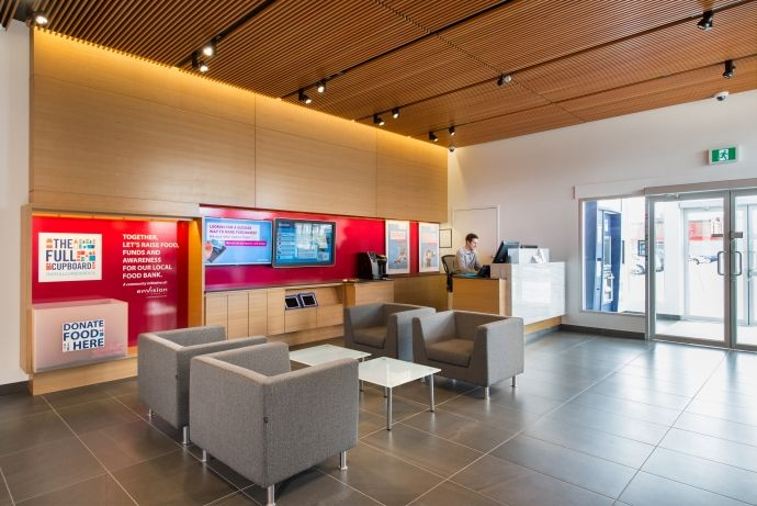 The Interior Design Of The Envision Financial Branch In Cloverdale, BC By  Vancouver Based