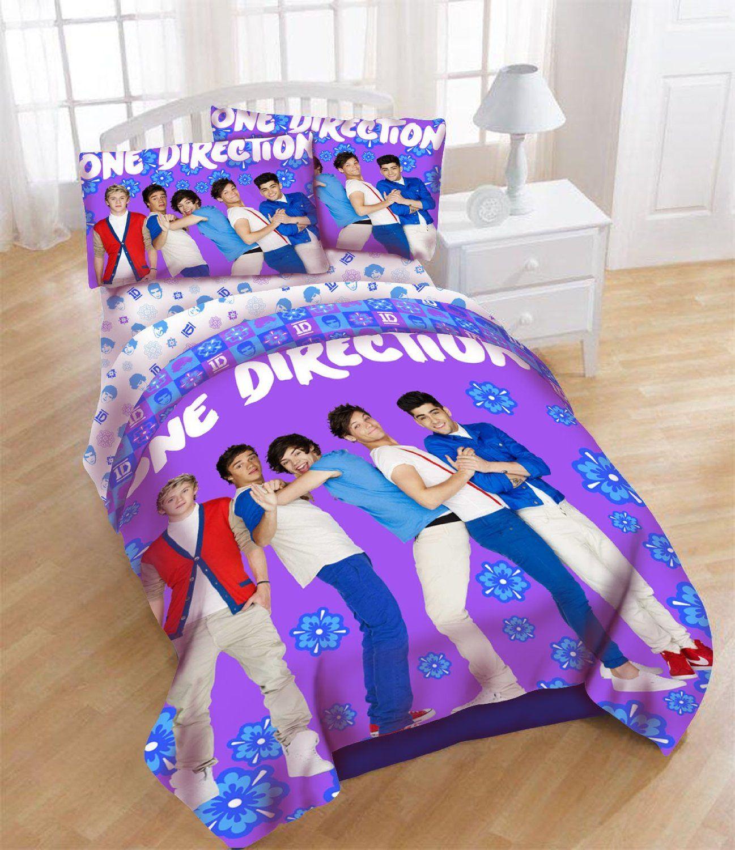 One Direction Comforter Bedding Set Twin Sets Boy Bands Quilt