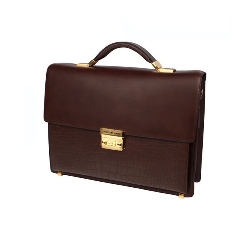 276.00$  Buy here - http://aliqnk.shopchina.info/go.php?t=32778429881 - L# s selling briefcases locks imported high-end handbags a first layer of leather FREE SHIPP 276.00$ #magazine