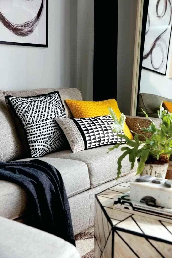 Grey Sofa And Cushions Review Inside Decor 3 Living Room Cushions Grey Sofa Living Room White Sofa Design